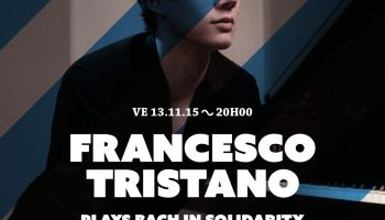 Francesco Tristano plays Bach in Solidarity with Grece