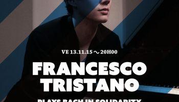 Francesco Tristano spielt Bach - aus Solidarität für Griechenland